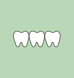 Healthy tooth vector