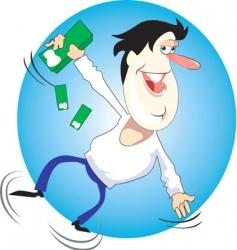 money player vector image