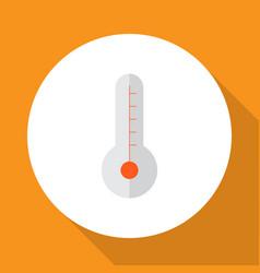 thermometer icon flat symbol premium quality vector image