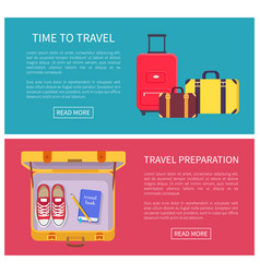 time to travel web pages vector image