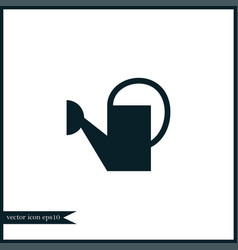 watering can icon simple vector image