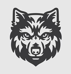 Wolf Head Logo Mascot Emblem vector