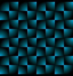 creative square blue black gradient pattern vector image