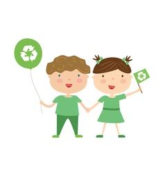 Kids environment vector image vector image