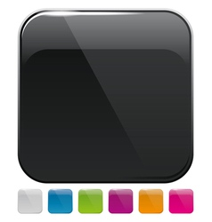app icons and pictograms for web applicatio vector image vector image