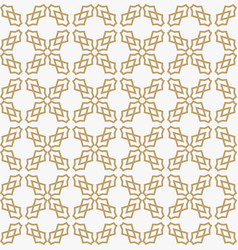 abstract geometric decoration pattern with lines vector image