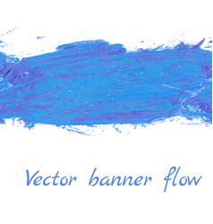 banner flow vector image