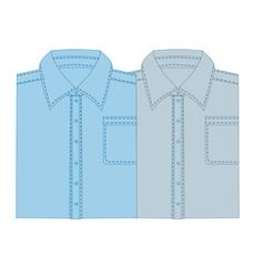 Business shirt vector