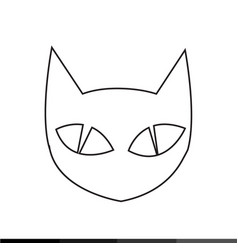 Cat icon design vector