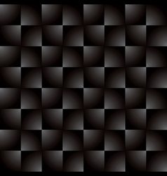 Creative square grey black gradient pattern vector