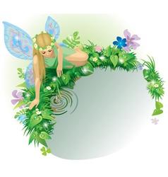 Fairy girl vector