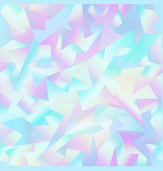 holographic mosaic pattern vector image
