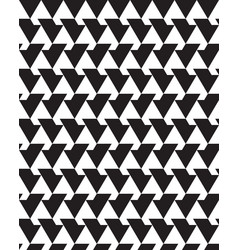 seamless monochrome patterns vector image