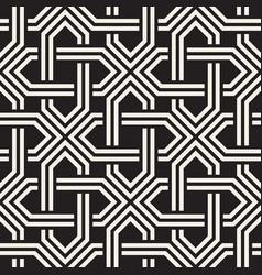seamless pattern abstract geometric lattice vector image
