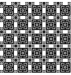 seamless simple geometric pattern vector image