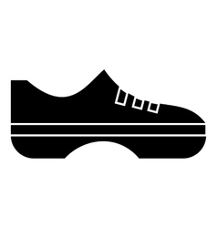 Women sneakers icon simple style vector