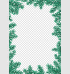 year greeting card background vector image