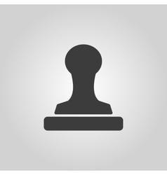 The stamp icon Cliche symbol Flat vector image vector image