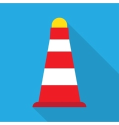 Road Cones icon vector image vector image