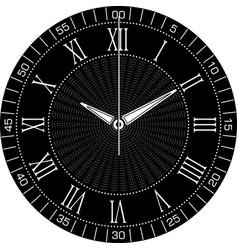 smart watch face k vector image