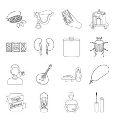 cosmetics medicine hunting and other web icon in vector image