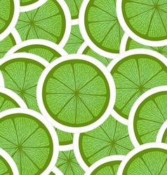 Green lime seamless background vector image vector image