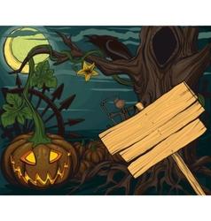 halloween pumpkin jack o lanterns vector image vector image