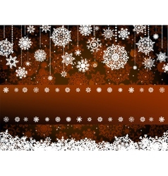 Retro christmas card Template EPS 8 vector image vector image