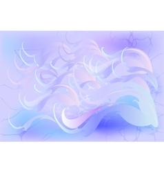 Abstract winter background in cool shades EPS10 vector image
