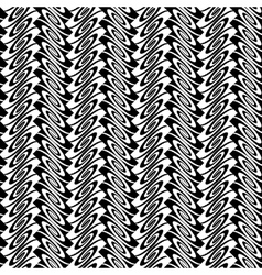 Design seamless monochrome vertical pattern vector image vector image