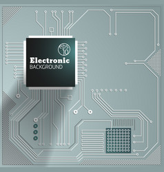 eelectric board background vector image