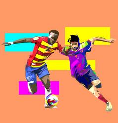 Football 1-6 vector