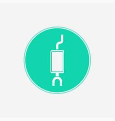 Muffler icon sign symbol vector