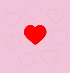 st valentines day invitation vector image