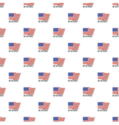 usa we the people pattern seamless vector image