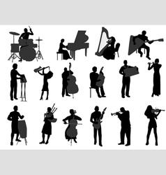 Musicians vector