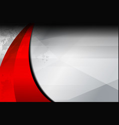 Background red curve texture vector