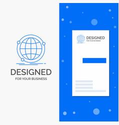 business logo for data global internet network vector image