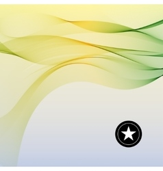 Colorful smooth twist light lines vector
