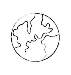 Global world earth map atlas location vector
