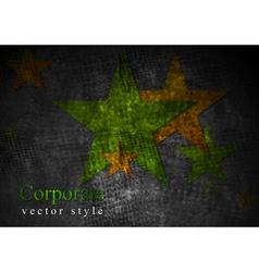 Grunge stras design vector