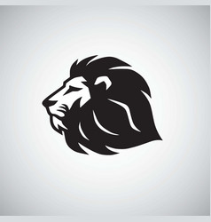 lion icon logo template vector image