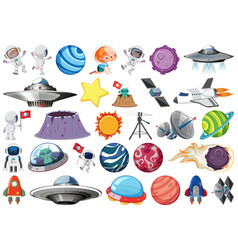 set space element vector image