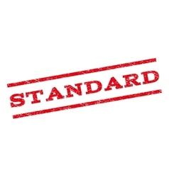 Standard Watermark Stamp vector image