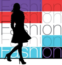 Fashion woman vector image vector image