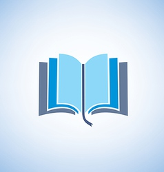 Book isolated symbol vector