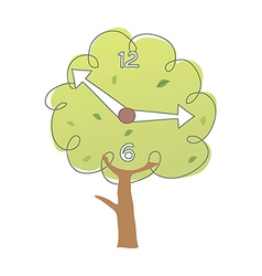 icon tree vector image vector image