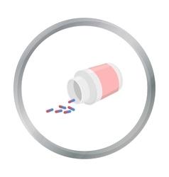 Medicines icon cartoon Single medicine icon from vector image