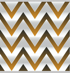 metal zigzag seamless pattern vector image