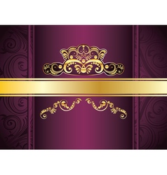 Purple Decorative Background5 vector image
